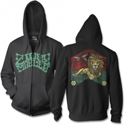 ziggy-marley - Fly Rasta Lion Zip Up