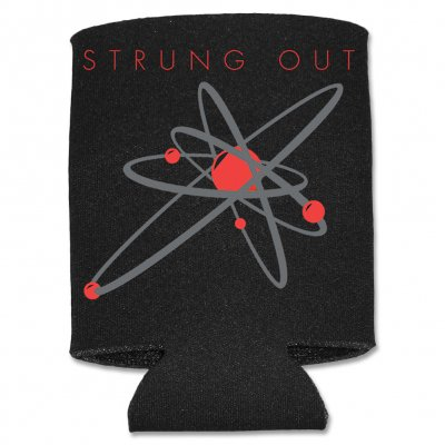 strung-out - Black/Red Astrolux Coozie (Black)