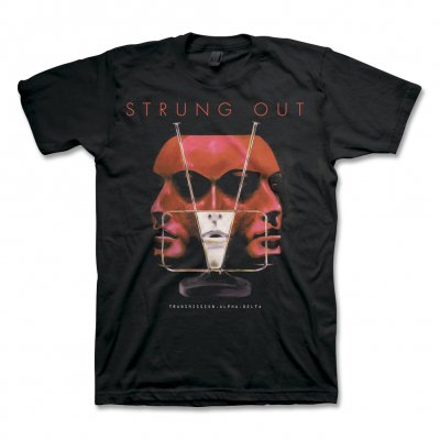 strung-out - Transmission Cover Tee (Black)