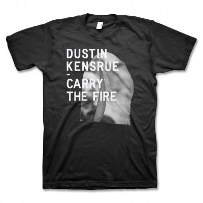 dustin-kensrue - Carry The Fire Cover T-Shirt (Black)