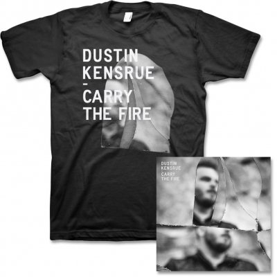 dustin-kensrue - Carry The Fire CD & Album Cover Tee