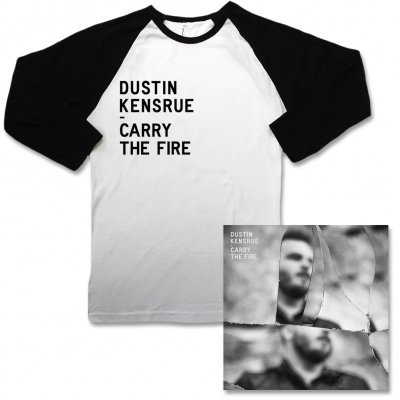 dustin-kensrue - Carry The Fire CD & Baseball Raglan Tee