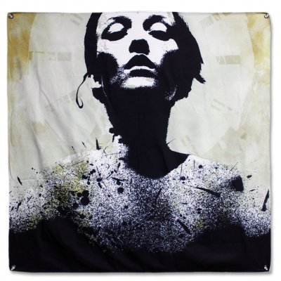 "epitaph-records - Jane Doe Album - 46""x46"" Flag"