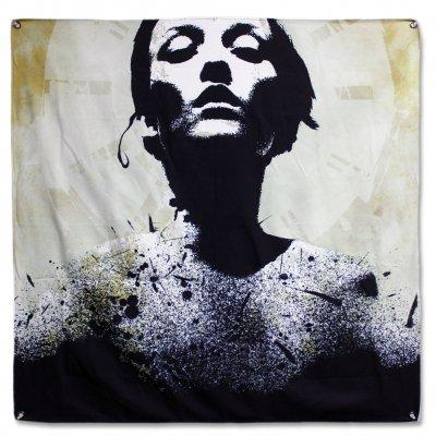 """Converge - Jane Doe Album - 46""""x46"""" Flag"""