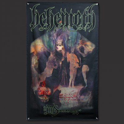 Behemoth - Satanist Key Flag