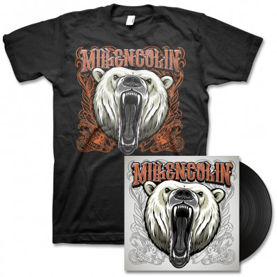 Millencolin - True Brew LP (Black) & Album Tee