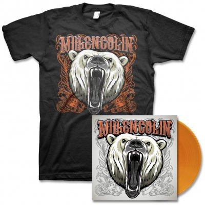 Millencolin - True Brew LP (Orange) & Album Tee