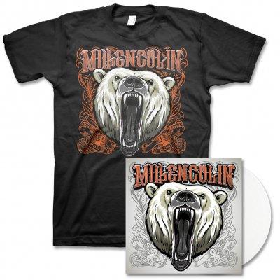 Millencolin - True Brew LP (White) & Album Tee