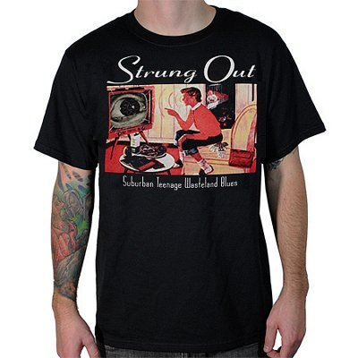 Strung Out - Suburban Teenage Wasteland Tee (Black)