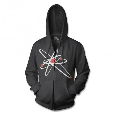 strung-out - Astrolux Zip-Up Hoodie (Black)
