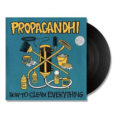 propagandhi - How to Clean Everything - LP (black) Remastered