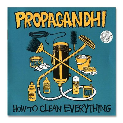 propagandhi - How to Clean Everything CD - Remastered