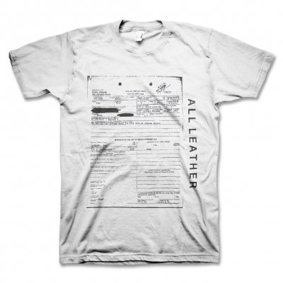 All Leather - An Insufficient Apology T-Shirt (White)
