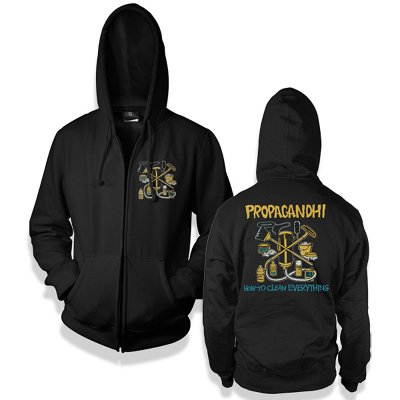 Propagandhi - How To Clean Everything Hoodie