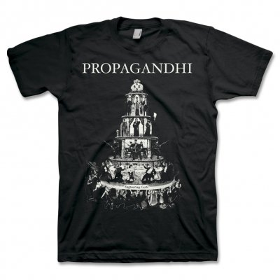 propagandhi - Pyramid Of Capitalism T-Shirt (Black)