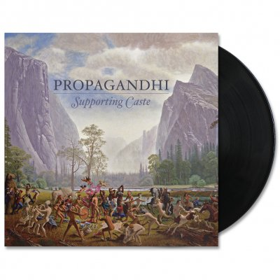 Propagandhi - Supporting Caste (Reissue) LP - Black