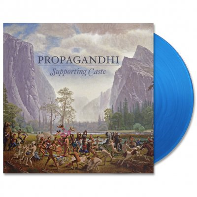 Propagandhi - Supporting Caste (Reissue) LP - Blue