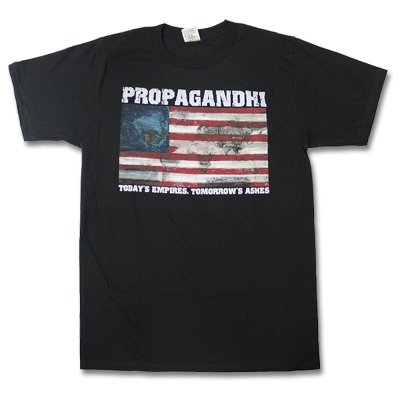 Propagandhi - Empires Tee (Black)