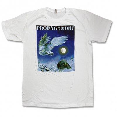 Propagandhi - Owl Tee (White)