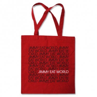 jimmy-eat-world - Jimmy Eat World Red Logo Tote Bag