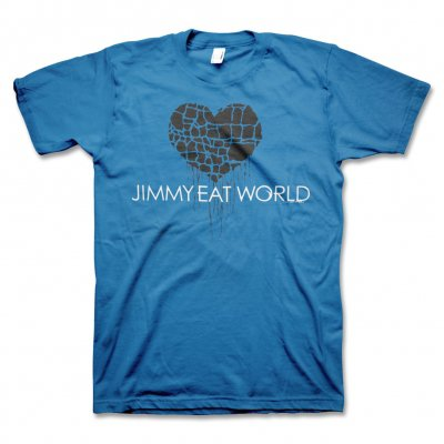 Jimmy Eat World - Broken Heart T-Shirt (Blue)