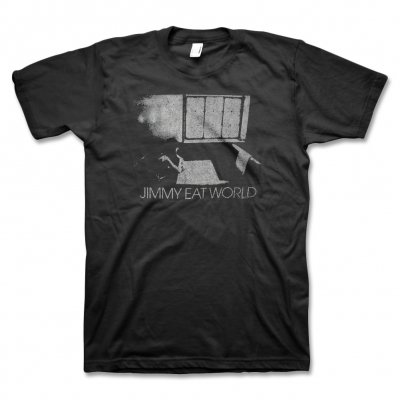 Jimmy Eat World - Table For One T-Shirt (Black)