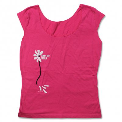 Jimmy Eat World - Sleeveless Flower T-Shirt - Women's