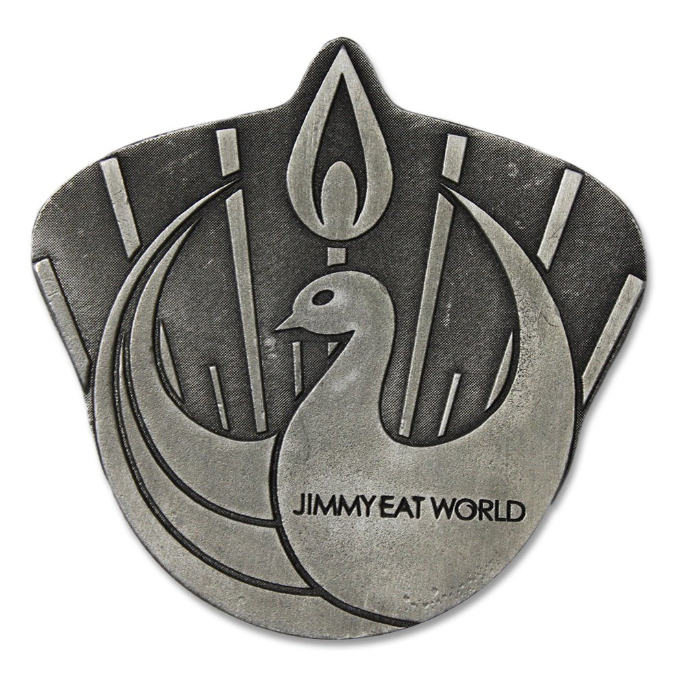 IMAGE   Jimmy Eat World Belt Buckle