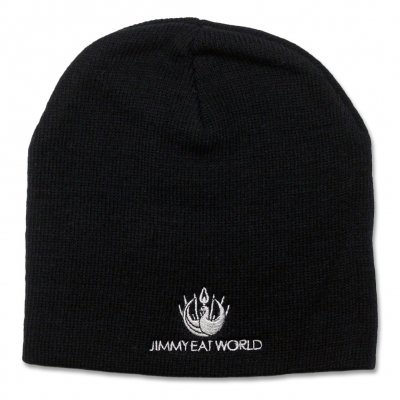 jimmy-eat-world - Jimmy Eat World Logo Beanie (Black)