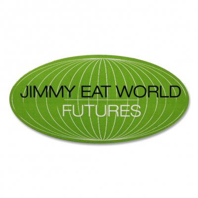 jimmy-eat-world - Futures World Sticker (Green)
