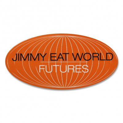 jimmy-eat-world - Futures World Sticker (Orange)