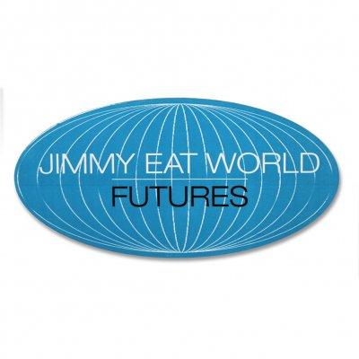 jimmy-eat-world - Futures World Sticker (Blue)