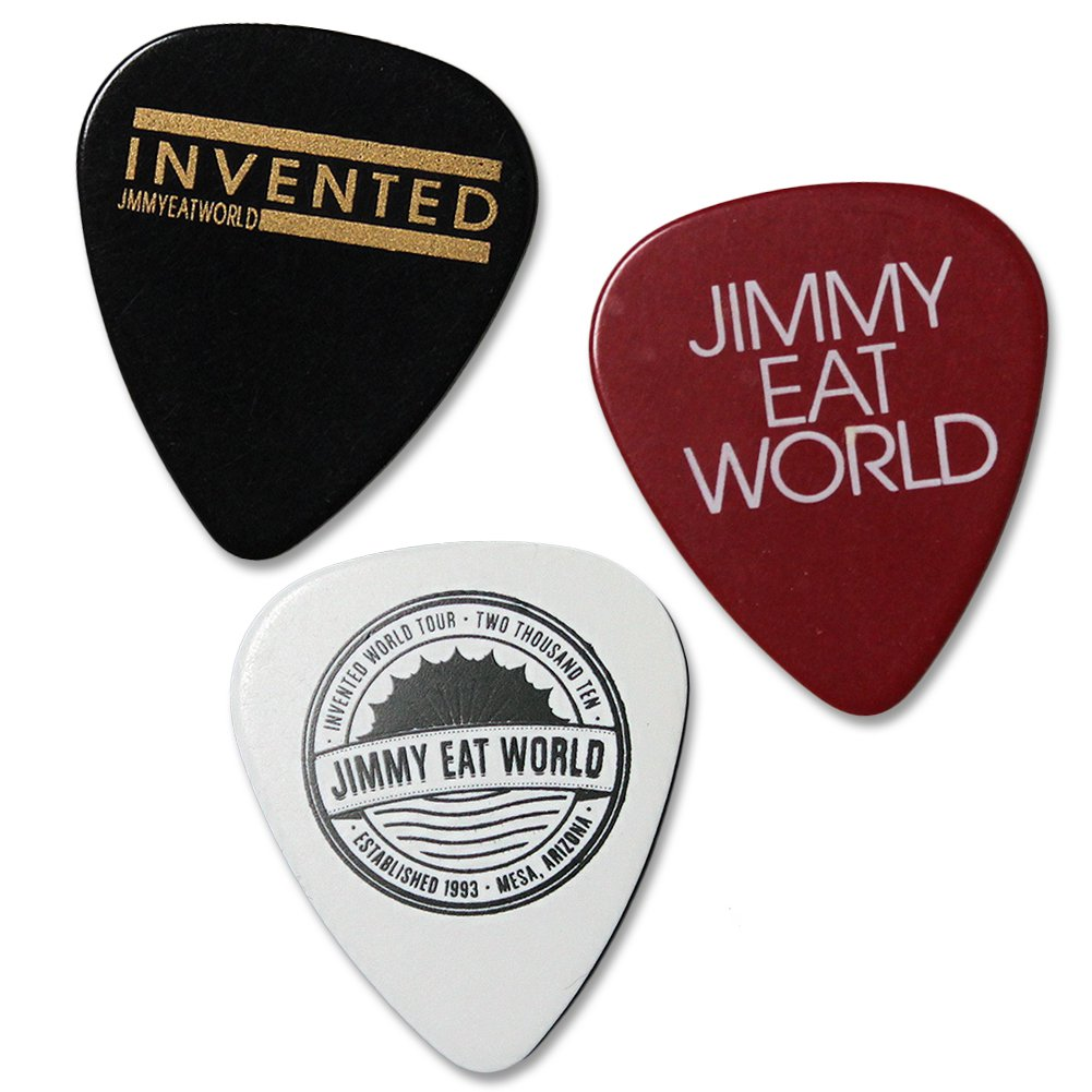 IMAGE   Jimmy Eat World Guitar Pick Pack
