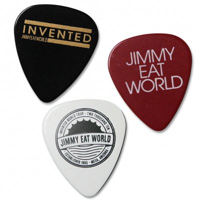 jimmy-eat-world - Jimmy Eat World Guitar Pick Pack