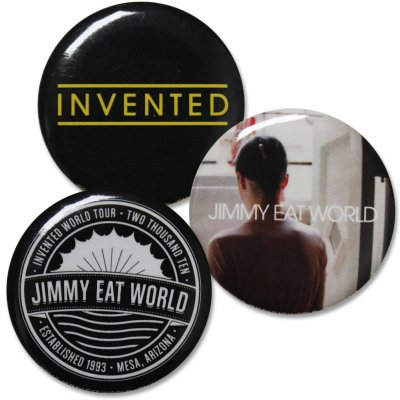 jimmy-eat-world - Invented Button Packs