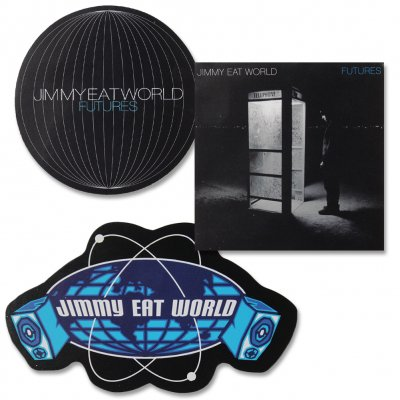 jimmy-eat-world - Atom Sticker Pack
