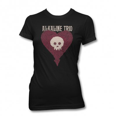 alkaline-trio - Heartskull Leaves Womens