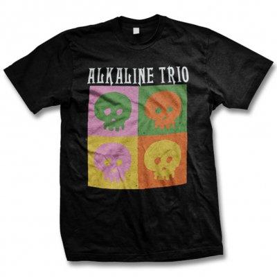 alkaline-trio - Warhol Panel Tee