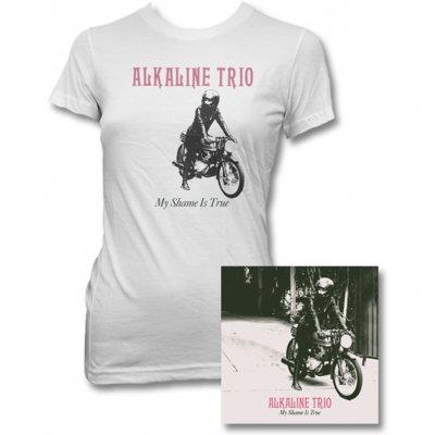 Alkaline Trio - My Shame Is True CD & Womens Album Tee