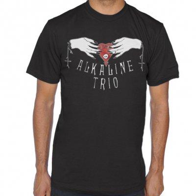 alkaline-trio - Ouija Hands Tee (Black)