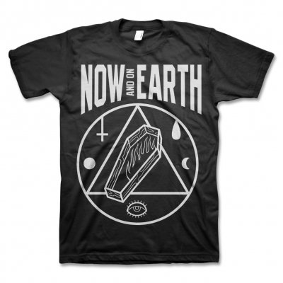 Now And On Earth - NAOE Coffin T-Shirt (Black)