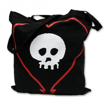 alkaline-trio - Heartskull Tote Bag