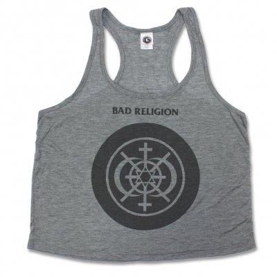 Bad Religion - Multi Icon Women's Racerback Tank (Heather Grey)
