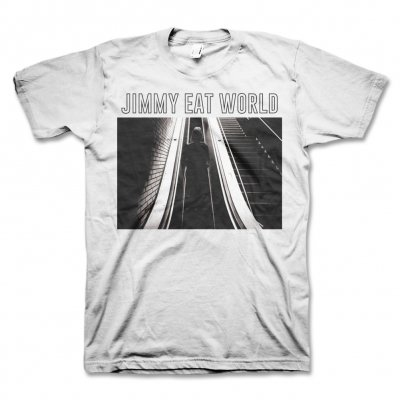 Jimmy Eat World - Escalator T-Shirt (White)