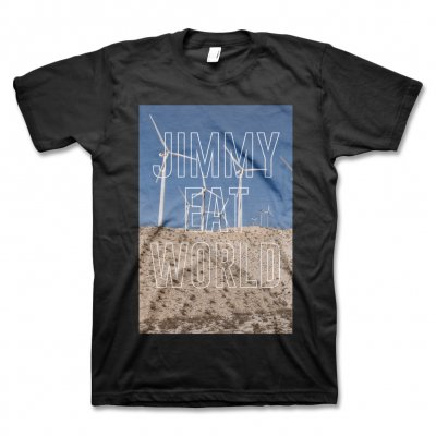 Jimmy Eat World - Turbines T-Shirt (Black)