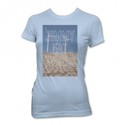 Jimmy Eat World - Turbines T-Shirt (Sky Blue) - Women's