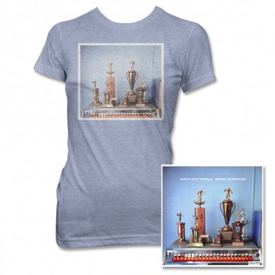 Jimmy Eat World - Bleed American CD (Original) & Blue Tee - Women's