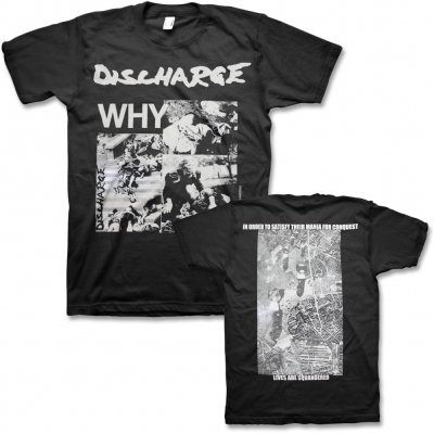 discharge - Why? T-Shirt (Black)