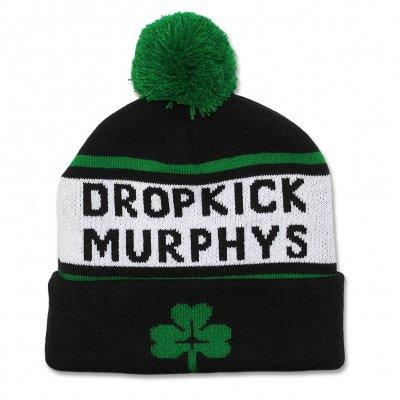 dropkick-murphys - Woven Shamrock Pom Beanie