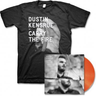 dustin-kensrue - Carry The Fire LP (Orange) & Album Cover Tee